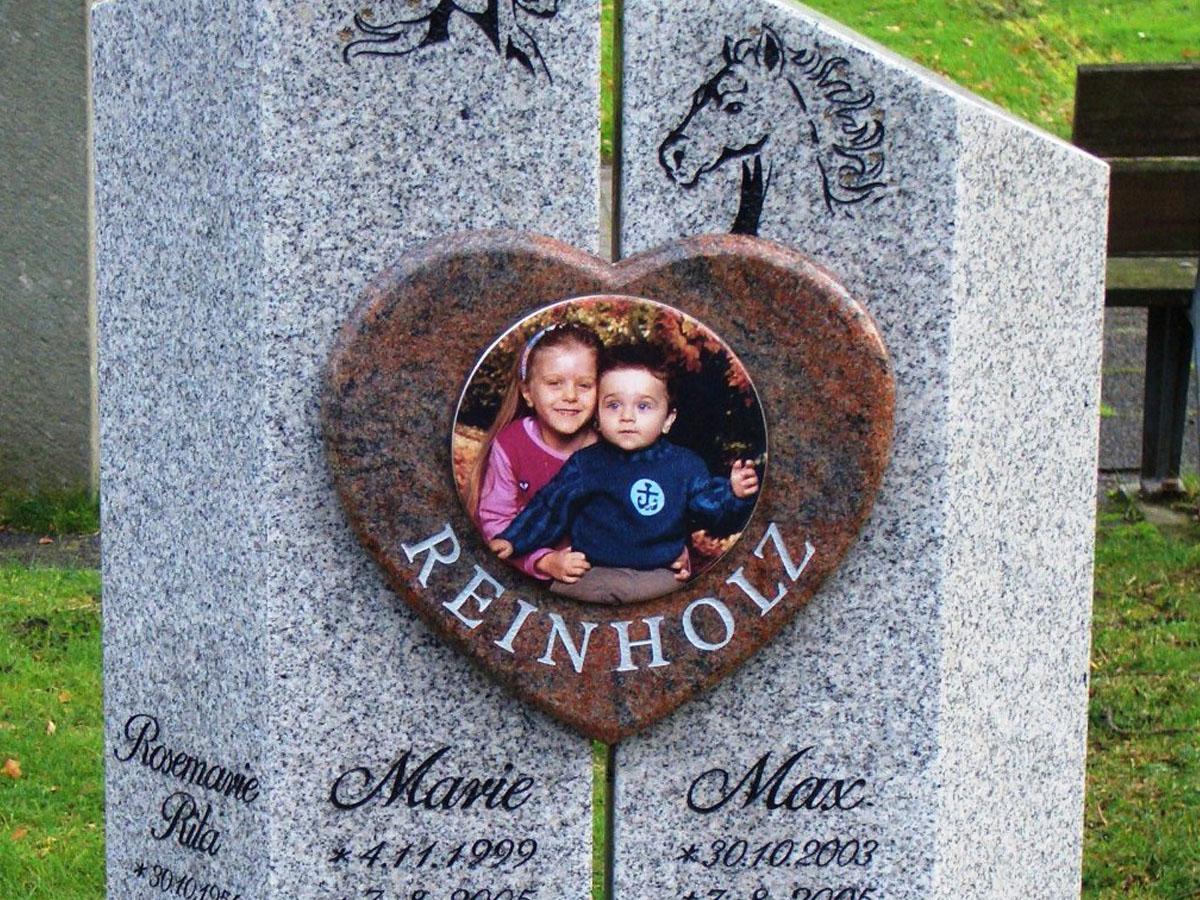 Kindergräber   Grabmale vom Steinmetz aus Essen
